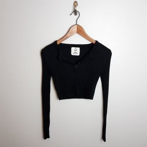 UNIF x Urban Outfitters | Ribbed Knit Crop Sweater